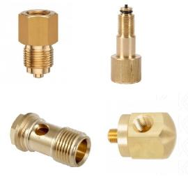 Brass Pressure Gauge Adapter